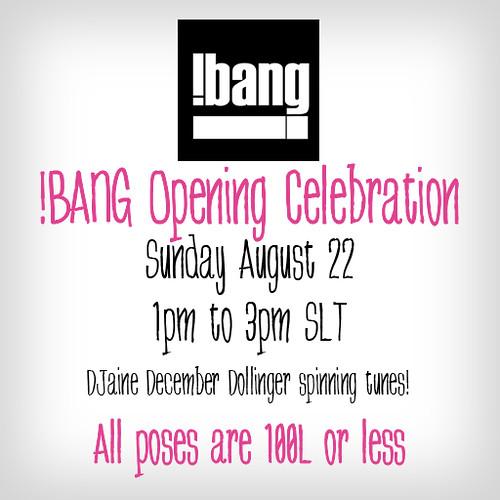 !BANG Opening Celebration