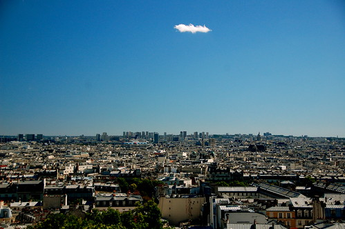 Cloud over Paris