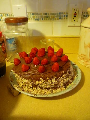 North Douglas Chocolate Cake