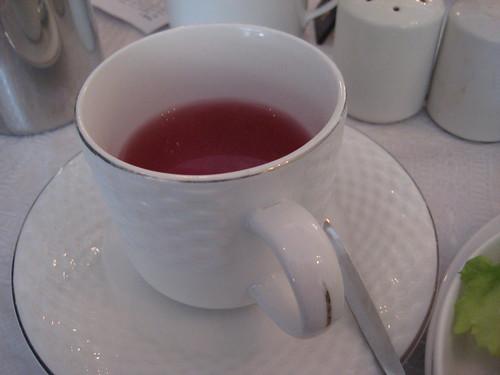 strawberry vanilla fool tea