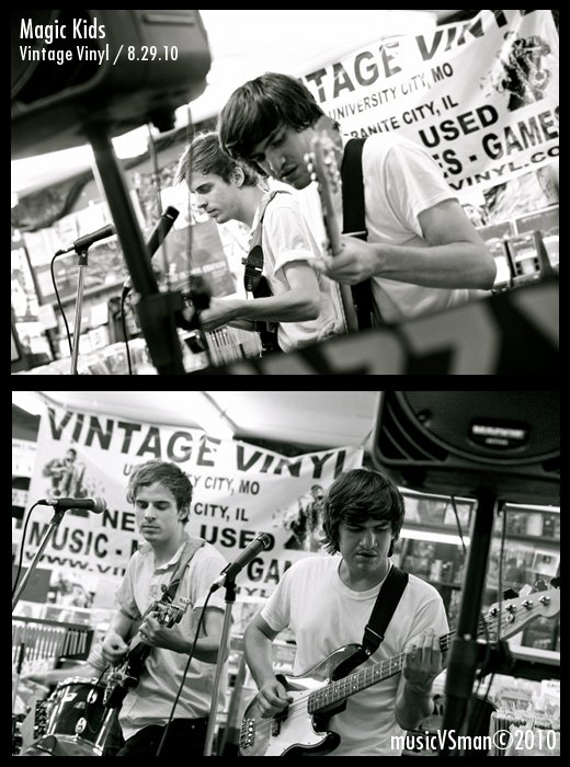 Magic Kids @ Vintage Vinyl - 8.29.10