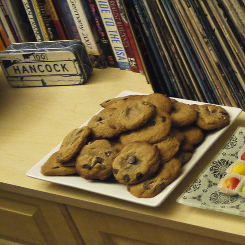 chocolate chip cookies by humphry slocombe