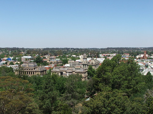 Picture from Bendigo's Rosalind Park