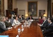 Reunión Comisión de Transportes UE y el ministro