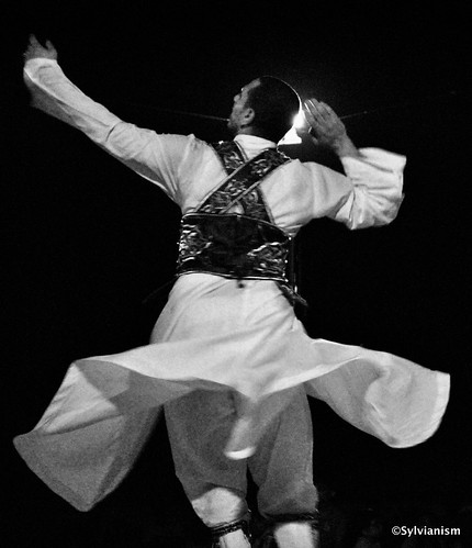 Tanoura dancer in the desert Sylvianism Photo Album