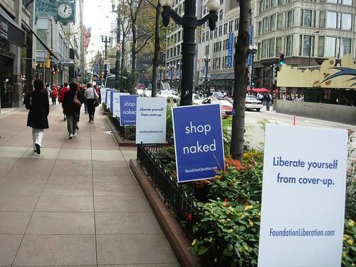 Guerilla Marketing Signs - Chicago Guerilla Marketing - ALT TERRAIN Guerilla Marketing Company