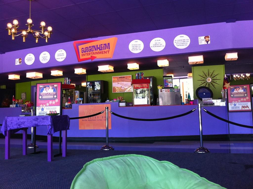 Retro Dome lobby