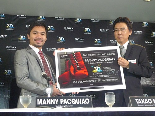 Manny Pacquiao for Sony