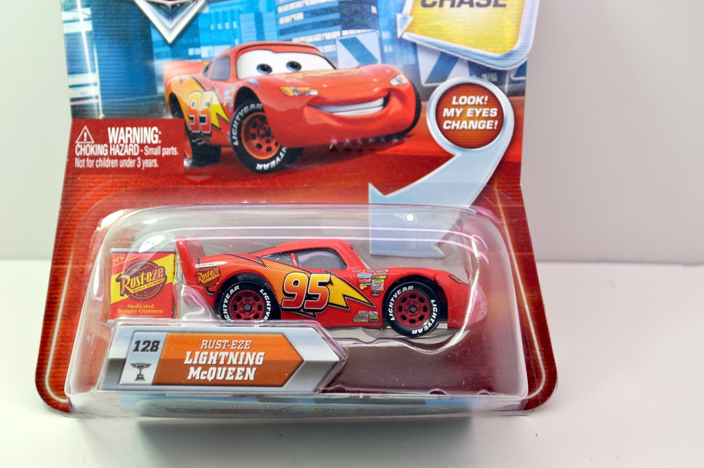 disney CARS Chase Rusteze Lightning Cqueen (2)