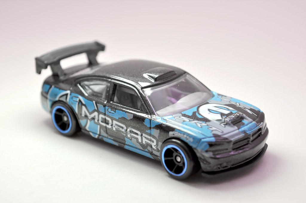 hws dodge charger drift car black (2)