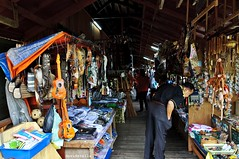 handicrafts at pekan nabalu