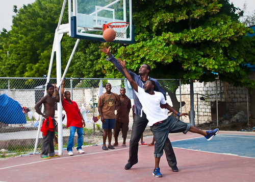 Dalembert-Playing-Basketball