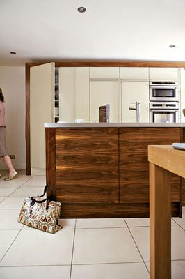 customized ikea kitchen Living Etc