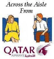 Across the Aisle from Qatar Airways