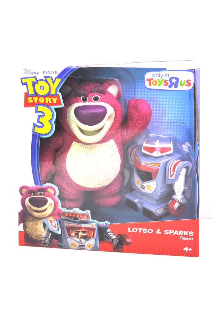 Toy Story 3 Lotso hugs Bear w sparks