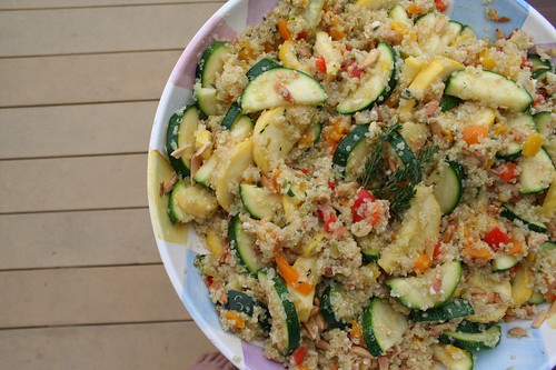 Quinoa Salad with Toasted Almonds