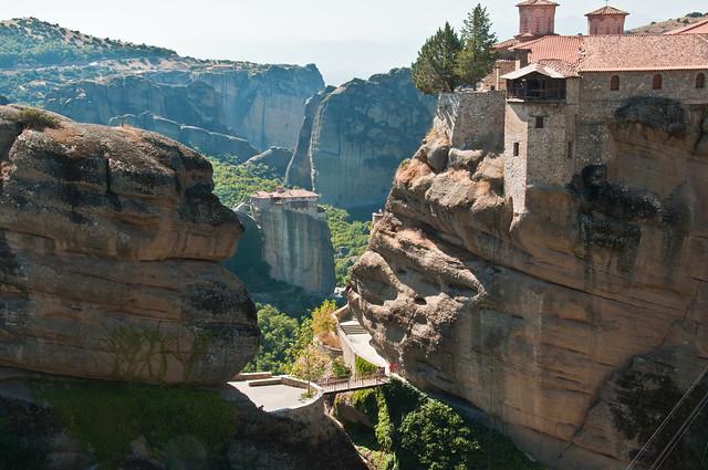 Rousanou Monastery beyond Verlaam