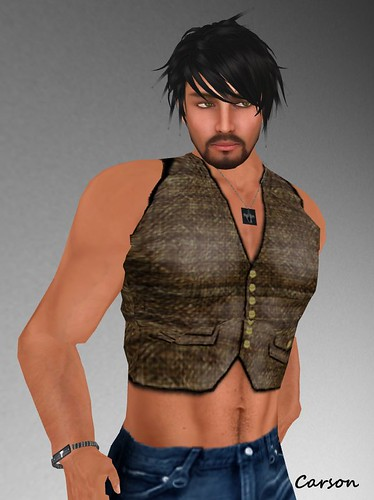 NE! Steampunk Vest -S3H- NE! Men's Necklace and Bracelet $1L