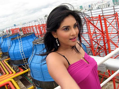 Indian Actress Ramya Hot Sexy Images Set-2  (99)