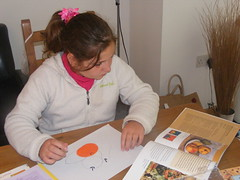 Art day with the Puddle Chicks 004