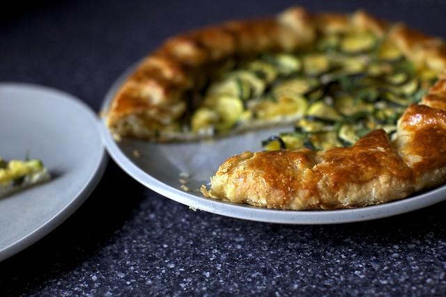 zucchini galette crust