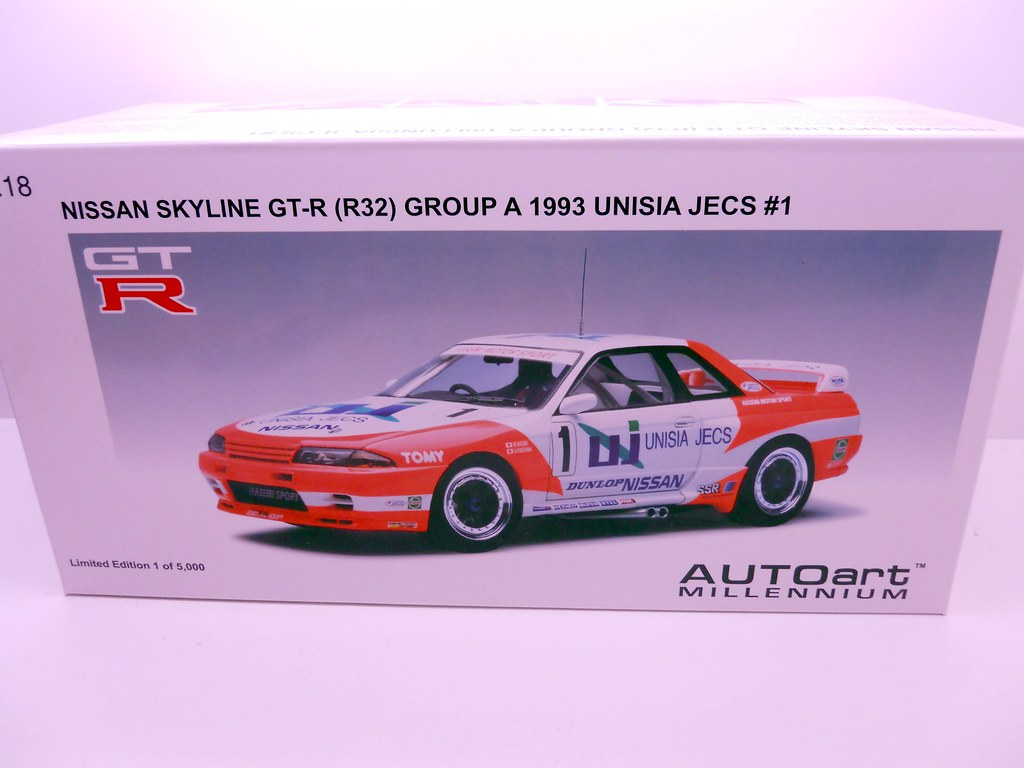 auto art unisia jecs nissan skyline R32 (1)