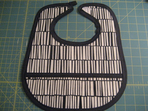 Oil cloth bib