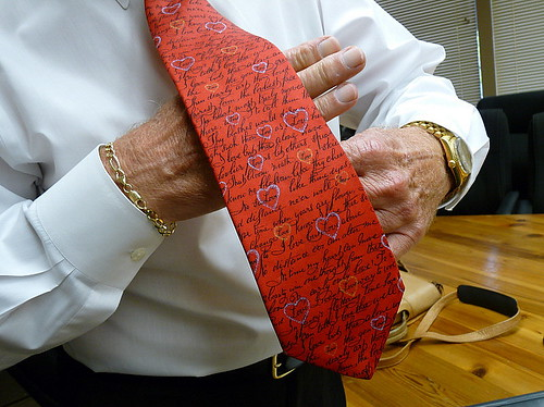 Rev. Powers' tie