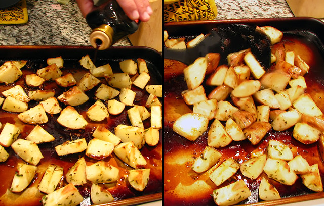 Roasted Red Balsamic Potatoes 5