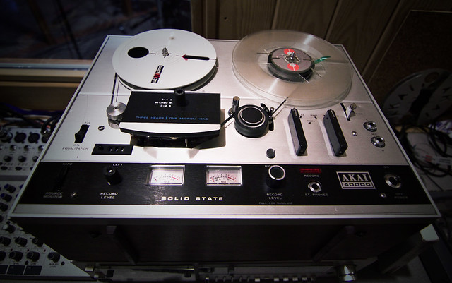 An old Akai tape recorder