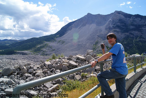Taoiseach at Frank Slide