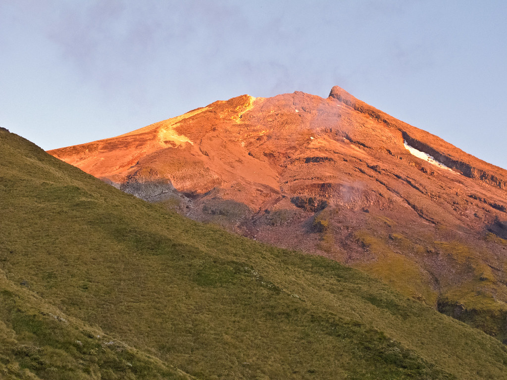 Taranaki in the morning light - I