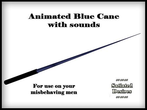 Thin Cane - Blue