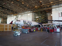 LAN 767 Getting Winglets