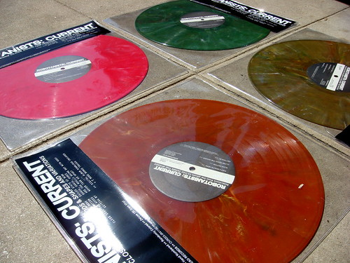 """ROBOTANISTS: Current 12"""" Vinyl / COLORS - DSC02196"""