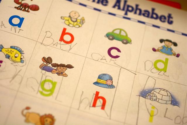 Cate's Alphabet