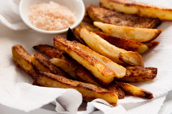 Salt and vinegar baked chips