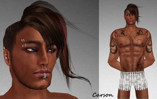 MHOH4 # 14  Nikita Fride Designer MHOH$ Skin, Shape Hair and Piercings