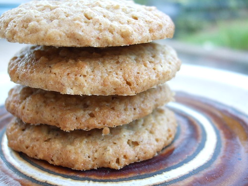 Crunchy Oat Biscuits