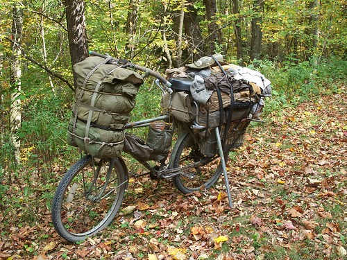 Full Metal Touring - An Army Surplus Mad Max Bicycle