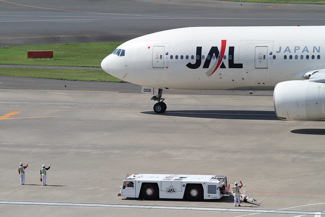 JAL B777-200(JA009D)