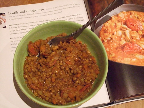 Lentils and Chorizo Stew