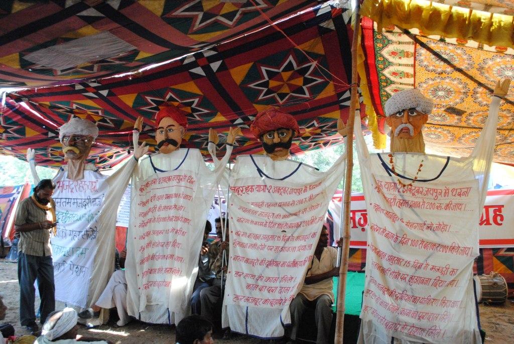 Pics from the satyagraha - 2 & 3 Oct 2010 - 7