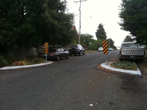 neighborhood traffic flow restrictors
