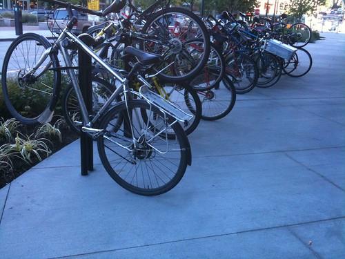 interesting bike racks