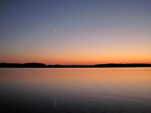 Sunset - Pungo River