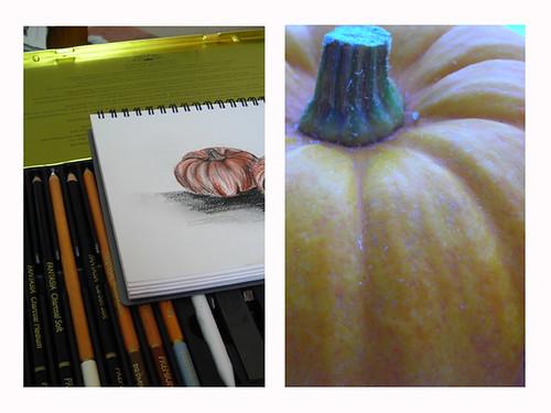 Drawing Munchkin Pumpkins