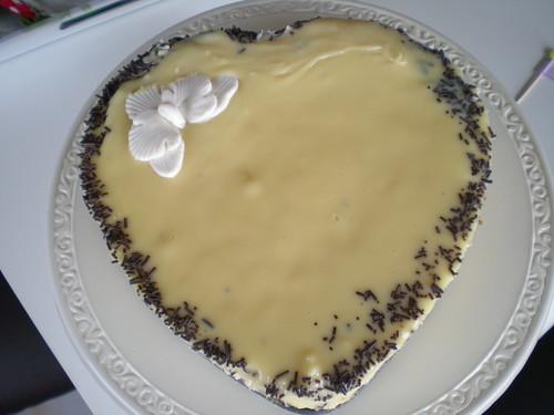 Damla sakızlı cheesecake