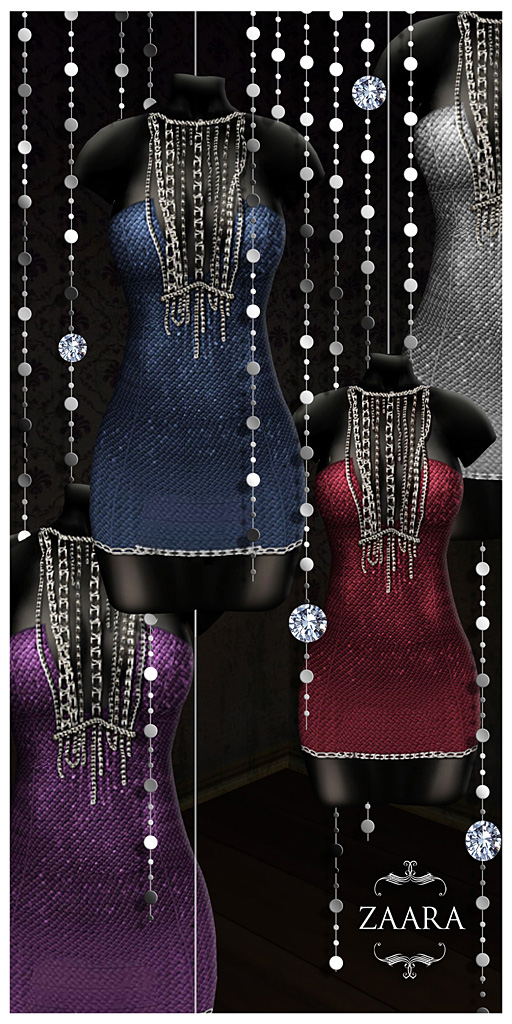 {Zaara} Acira minidress colors ad1