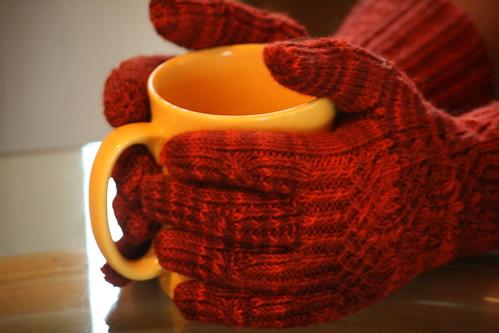 Entangled Stitches Gloves